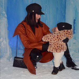 Dark Camel Coat (perfect condition)